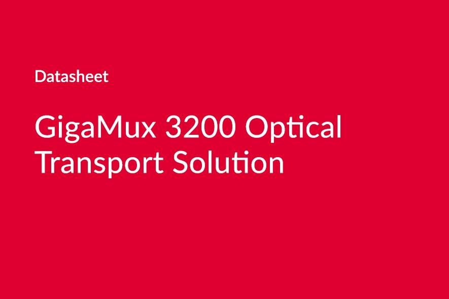GigaMux 3200 Datasheet